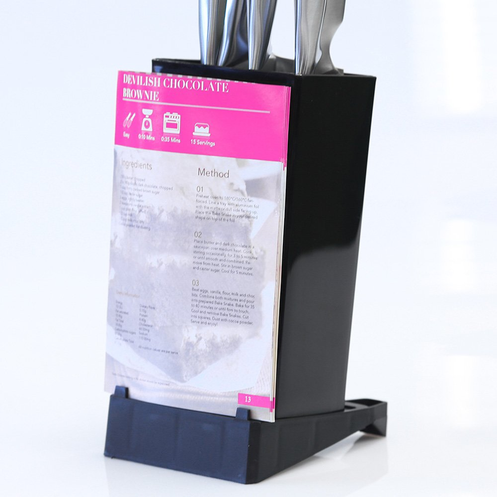 Kleva Universal Knife Block - Perfect protection for any of your kitchen utensils