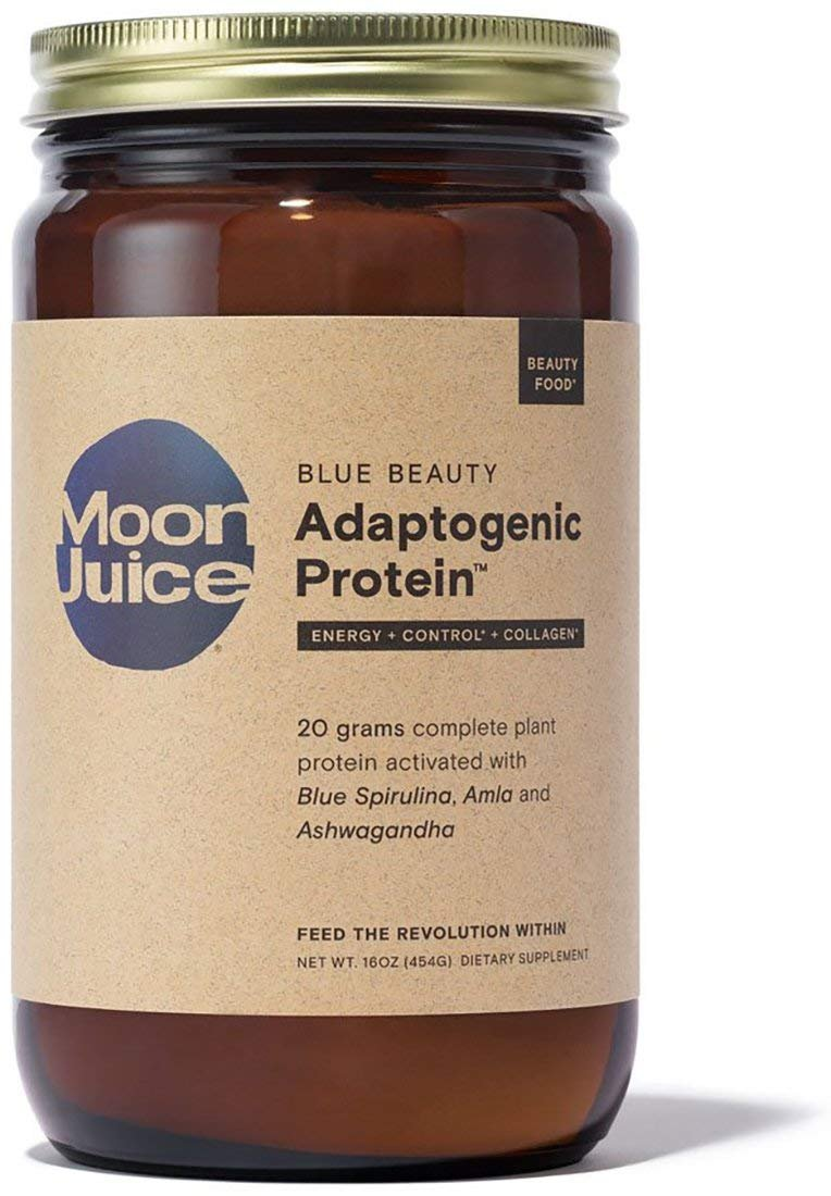 Moon Juice - Organic Blue Beauty Adaptogenic Protein (16 oz) by Moon Juice (Image #1)
