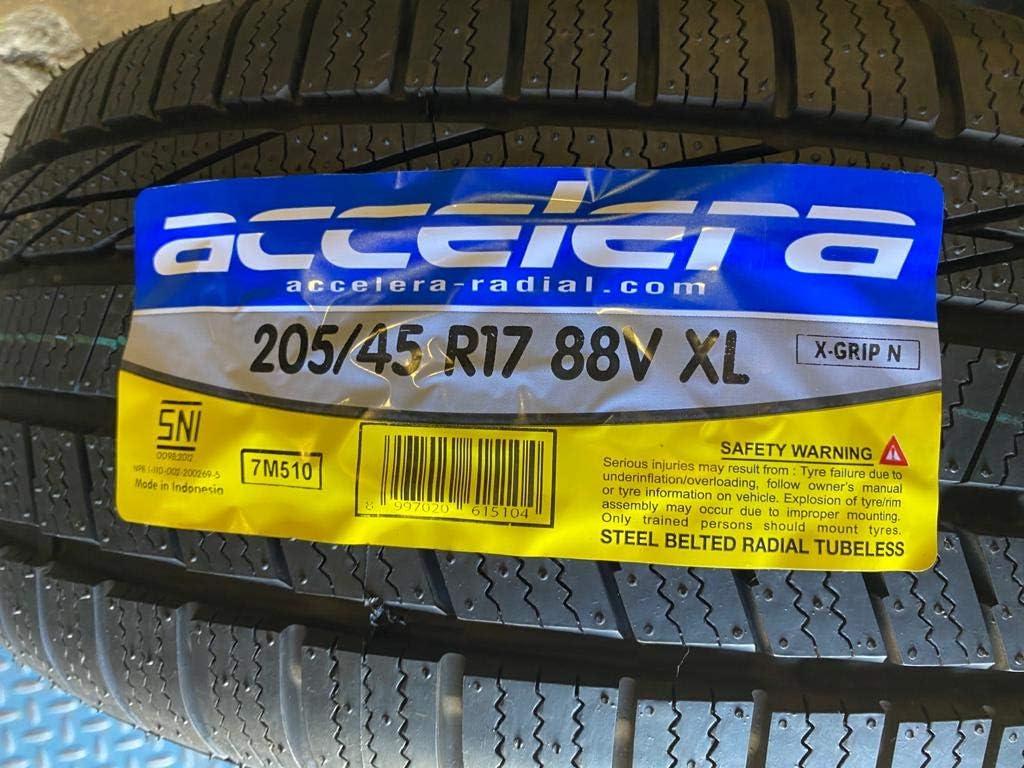 Accelera X Grip-N Winter Performance Radial Tire-215//45R17 91V