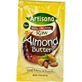 Almond Nut Butter, USDA Certified and Non-GMO Handmade Rich & Thick Spread (10-Packets, 1.06 oz)