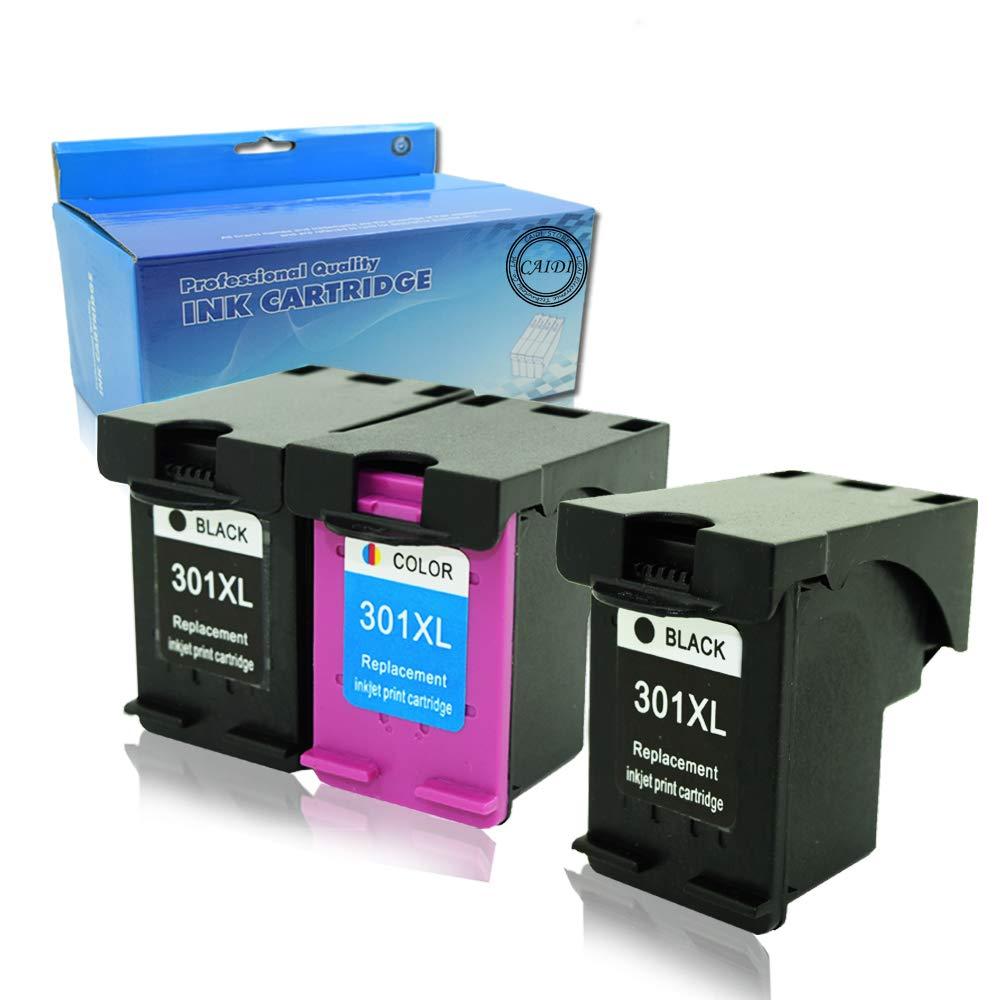 Generic Remanufacturado Cartuchos de tinta HP 301 XL para HP 301 XL negro y color, alta capacidad) Envy 4507 e-AiO 4643 (2 Negro y 1 color)