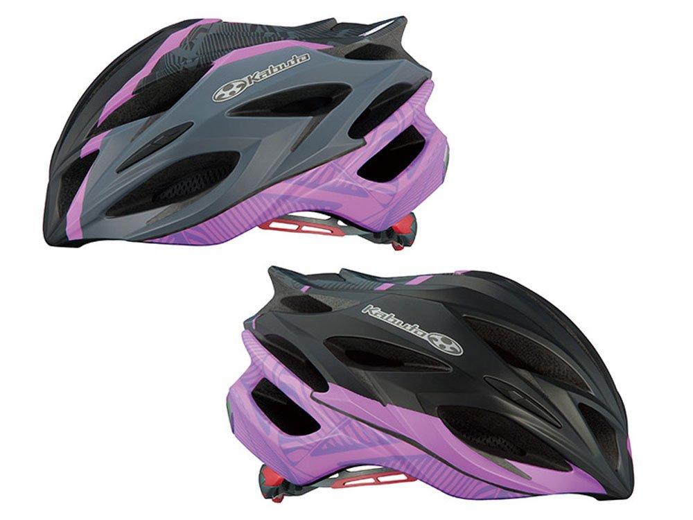 オージーケー(OGK) STEAIR(ステアー) レディース ヘルメット ブラック S/Mスリム