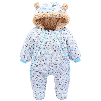 Amazon Com Luckyauction Baby Boys Girls Flannel Bunting Outfits