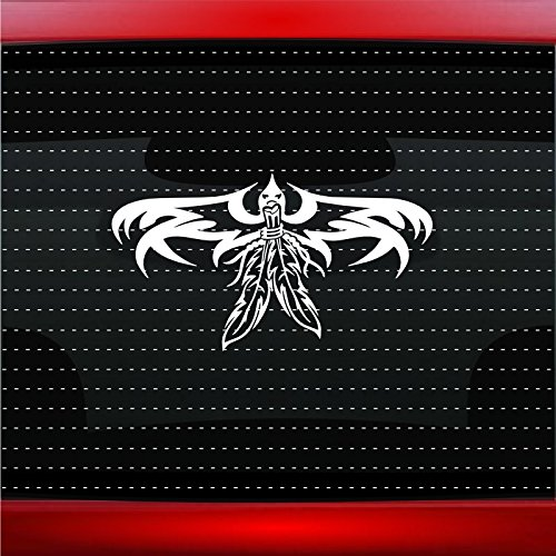 Thunderbird #4 Indian Native American Car Sticker Truck Window Vinyl Decal COLOR: GOLD]()