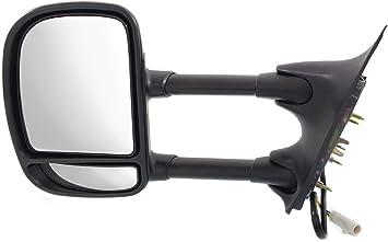 Kool Vue Mirror Fits 99-2007 Ford F-250 Super Duty Left Textured Black