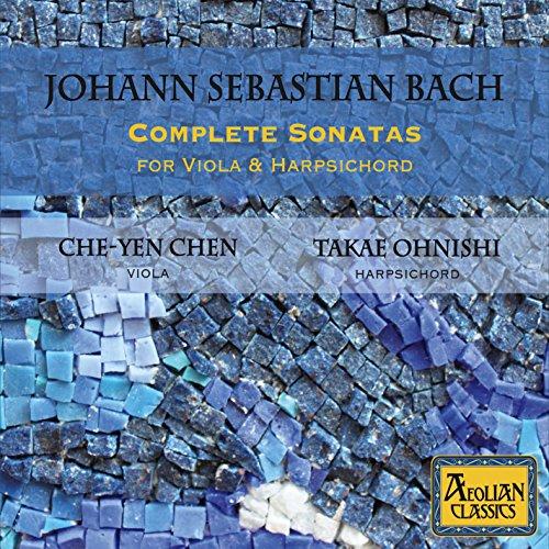 (Johann Sebastian Bach: Complete Sonatas For Viola And Harpsichord)