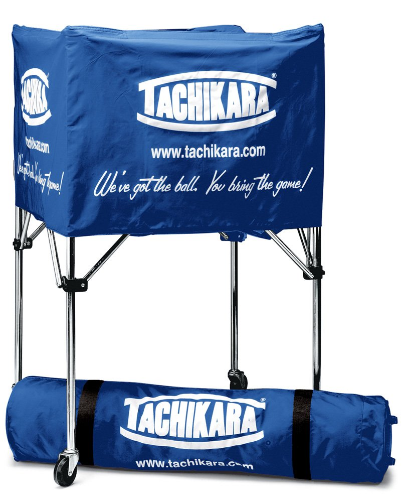 Tachikara Collapsible Ball Cart with Nylon Carry Bag Royal BIK-SP-RY