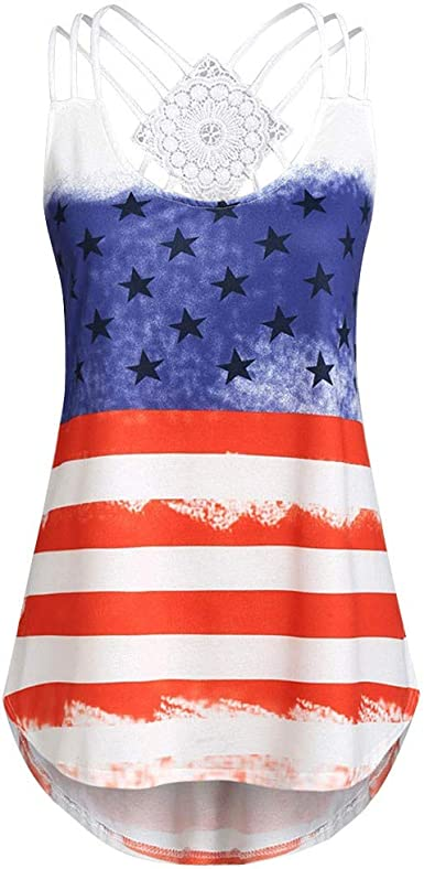 AMOFINY Womens Tops Ladies Bandages Sleeveless Vest Top Musical Notes Print Strappy Tank