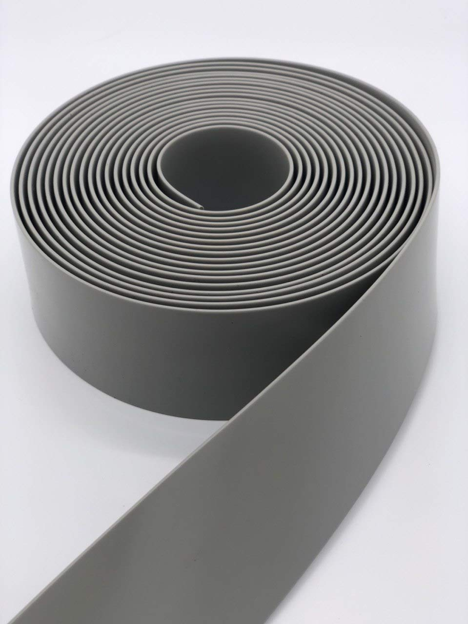 LEMBERG 2 Wide 100 Length Chair Vinyl Strap Strapping for Patio Lawn Garden Outdoor Furniture Matte Finish Color Grey