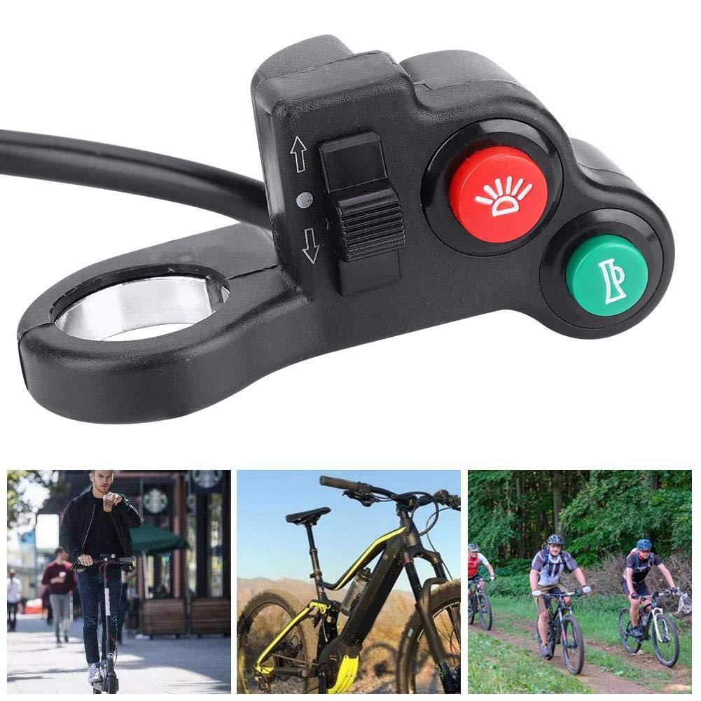 GFCGFGDRG Interruptor E-Bici Bicicleta el/éctrica de la bater/ía de la Motocicleta Vespa Cilindro de la Cerradura de Encendido Cierre de la bater/ía de Seguridad 2 Clave