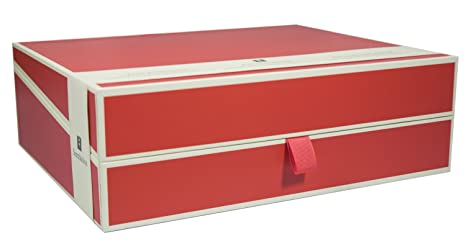 Semikolon Letter/A4 Size Document Storage Box Red (31904)  sc 1 st  Amazon.com & Amazon.com: Semikolon Letter/A4 Size Document Storage Box Red ...