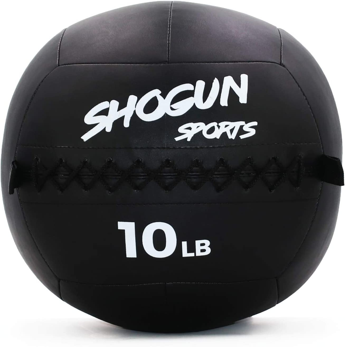Shogun Sports Soft Wall Ball. Durable Medicine Ball for Strength, Conditioning, Cardio and Cross Training. Ideal for Wall Balls, Lunges, Partner Toss, Twists. Available in 10, 14, 20 LB