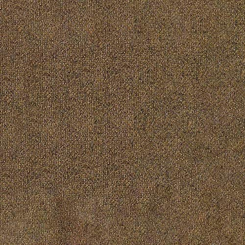 12 x30 Camel Brown Indoor-Outdoor 3 16 Thick Unbound Area Rug with Latex Backing