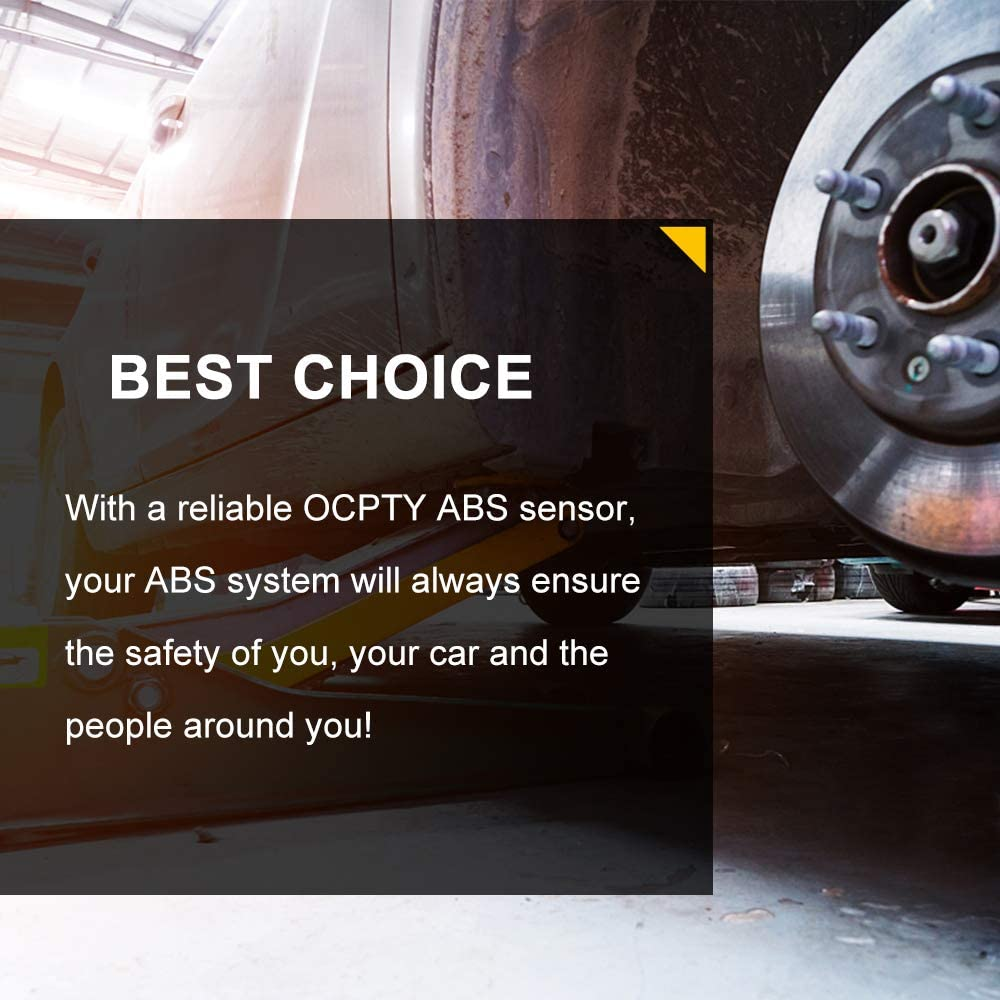 OCPTY ABS sensor,Left+Right+Rear Wheel Speed Sensor ALS2305 ALS2295 Fit for 2011-2015 Chrysler 300 2011-2012 2015 Dodge Challenger Pack of 2