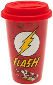 "Pyramid International ""DC Comics (The Flash)"" Official Boxed Ceramic Coffee/Tea Mug, Multi-Colour, 12 oz/340 ml,MGT23214"