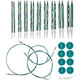 Knit Picks Options Interchangeable Caspian Circular Knitting Needle Set