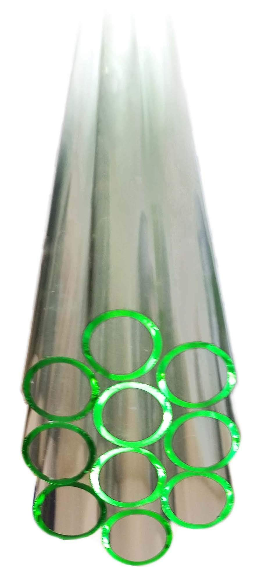 GSC International 14MMSLT-48 Flint Glass Tubing, 14mm Diameter, 48'' Long (5-Pound Pack)