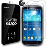 S3 Neo Glass Screen Protector (2 Pack), Ganvol Premium Tempered Glass Screen Protectors for Samsung Galaxy S3/S3 Neo