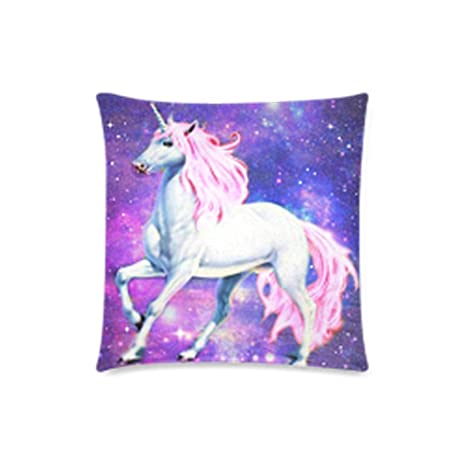 Amazon.com: Nebula Galaxy Space Unicorn – Caso Cojín Throw ...