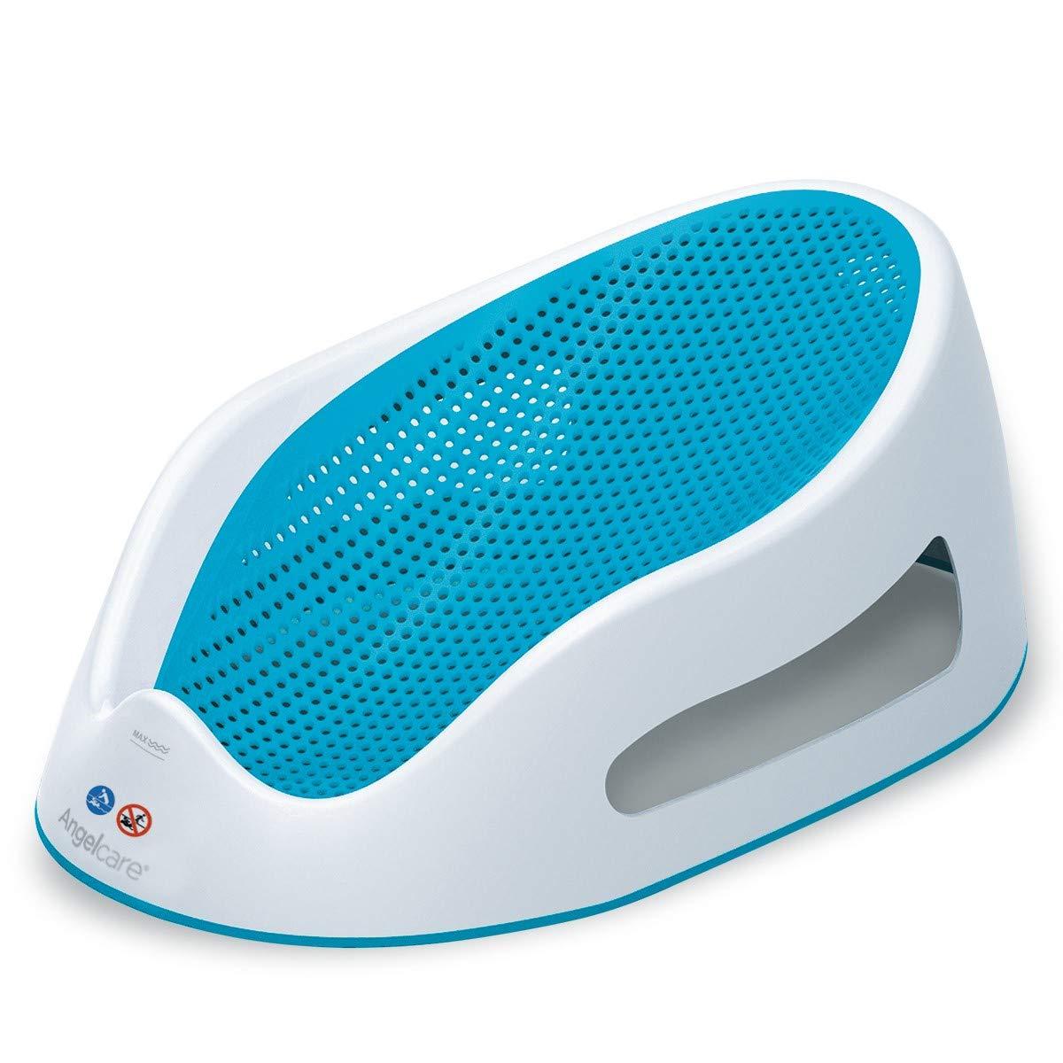 Angelcare - Transat de Bain pour Bébé - Ergonomique et Sécurisant - 0 à 6 Mois - Bleu product image