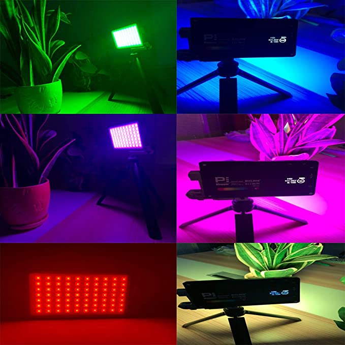 Boling SIX-in-ONE Accessory Kit for Pocket LED RGB Video Light