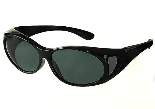 2c57289f27 ETP Sunglasses Adult Wear Over Glasses Small Black  Amazon.co.uk  Clothing