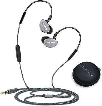 Auriculares in-ear, elegiant Deporte Stereo Auriculares Headset con micrófono Adecuado para jogging Fitness Workout 3.5 mm klinkenstecke para iPhone Samsung Smartphone Tablets iPad PC MP3 Players: Amazon.es: Electrónica