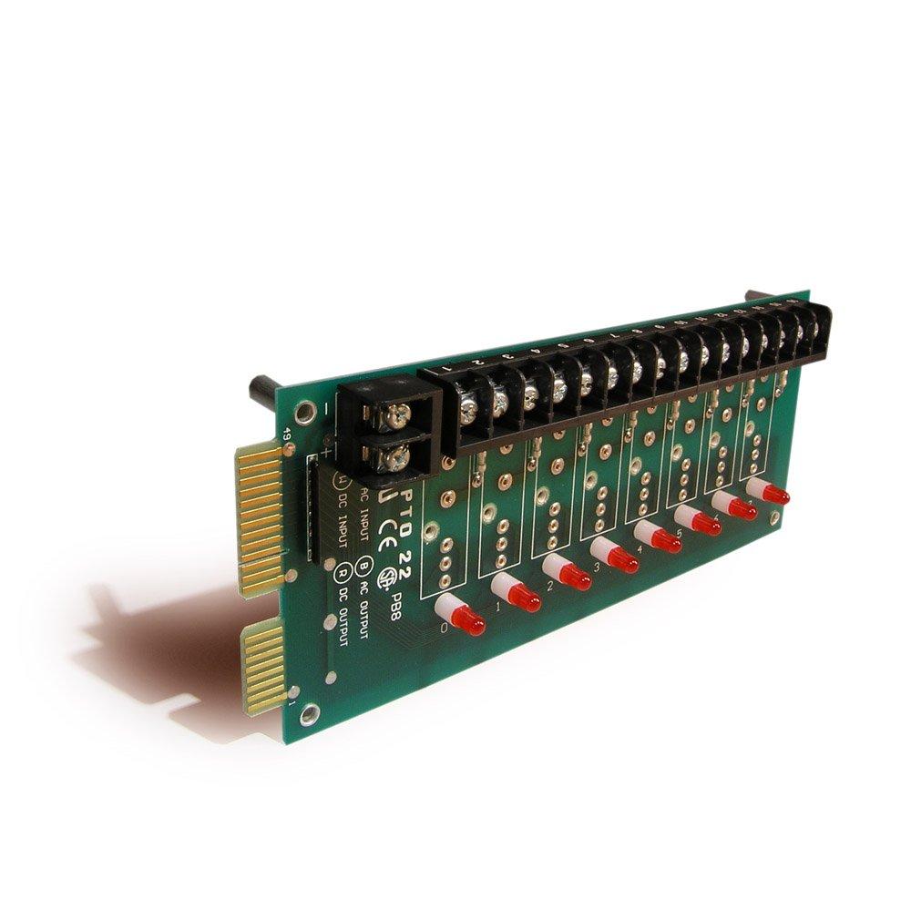 Opto 22 PB8 8 Channel Standard Digital I/O Module Rack