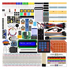 Please note this kit DOES NOT include Raspberry Pi.Supported models: Recommended: Raspberry Pi 3B+ / 3B Compatible: Raspberry Pi 3A+ / 2B / 1B+ / 1A+ / Zero W / ZeroTutorials and codes: This kit contains 2 detailed tutorials(PDF), one(Tutor...