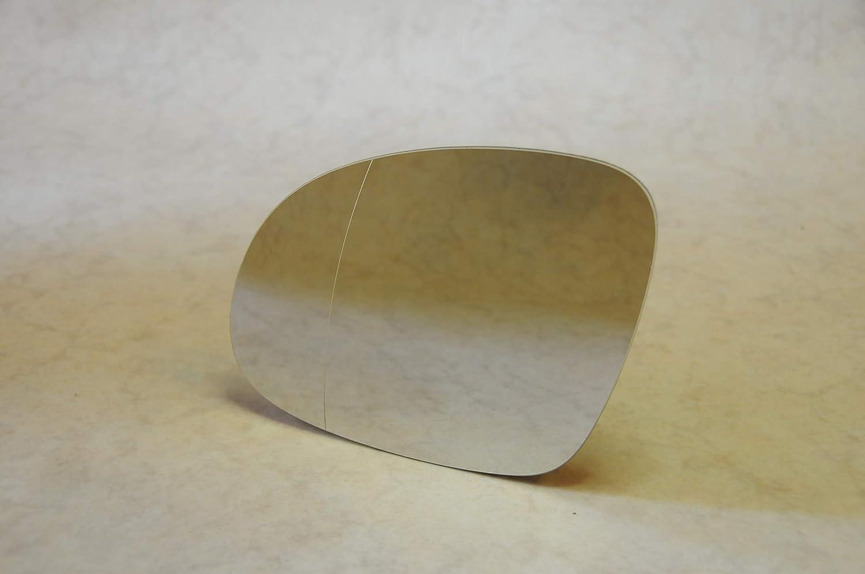 Cromato R.1350 Solo Vetro con Biadesivo Specchio Retrovisore specchietto esterno Sinistro
