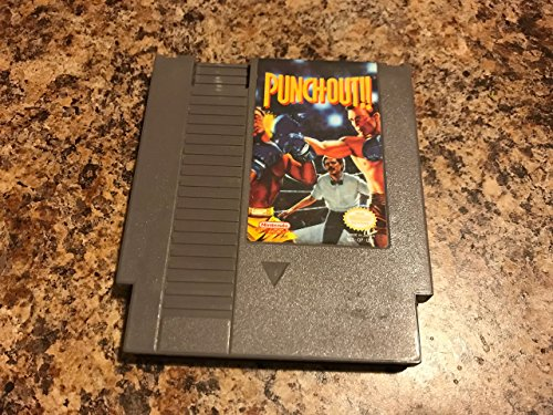 ***PUNCH-OUT NES NINTENDO GAME COSMETIC WEAR~~~ (Mike Tyson Punch Out Video Game)