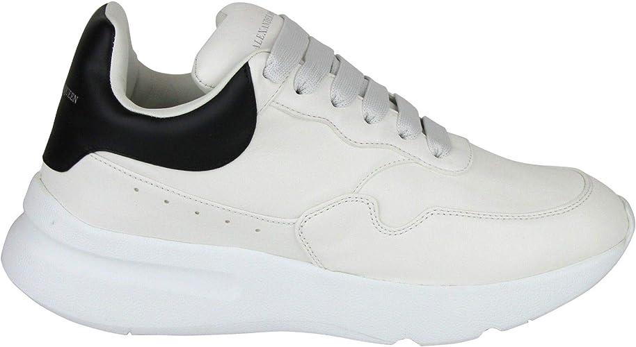 Black Leather Platform Sneakers 505033