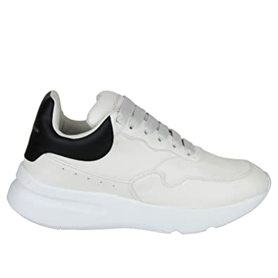 Amazon.com | Alexander McQueen Men's Ivory/White/Black ...