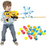 VANKER 3000Pcs Kids Crystal Soft Paintball Toy Bullet Absorbing Water Expanding Balls