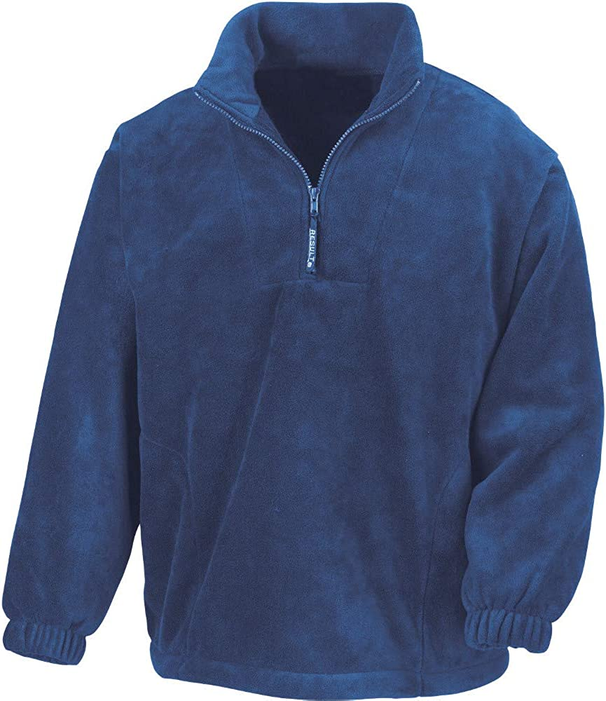 Outdoor Look Mens Laki Half Zip Polartherm Fleece Top Jacket