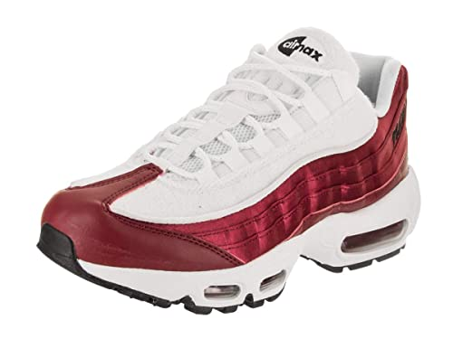 Nike Women bordeaux red black white Women Sneakers Air