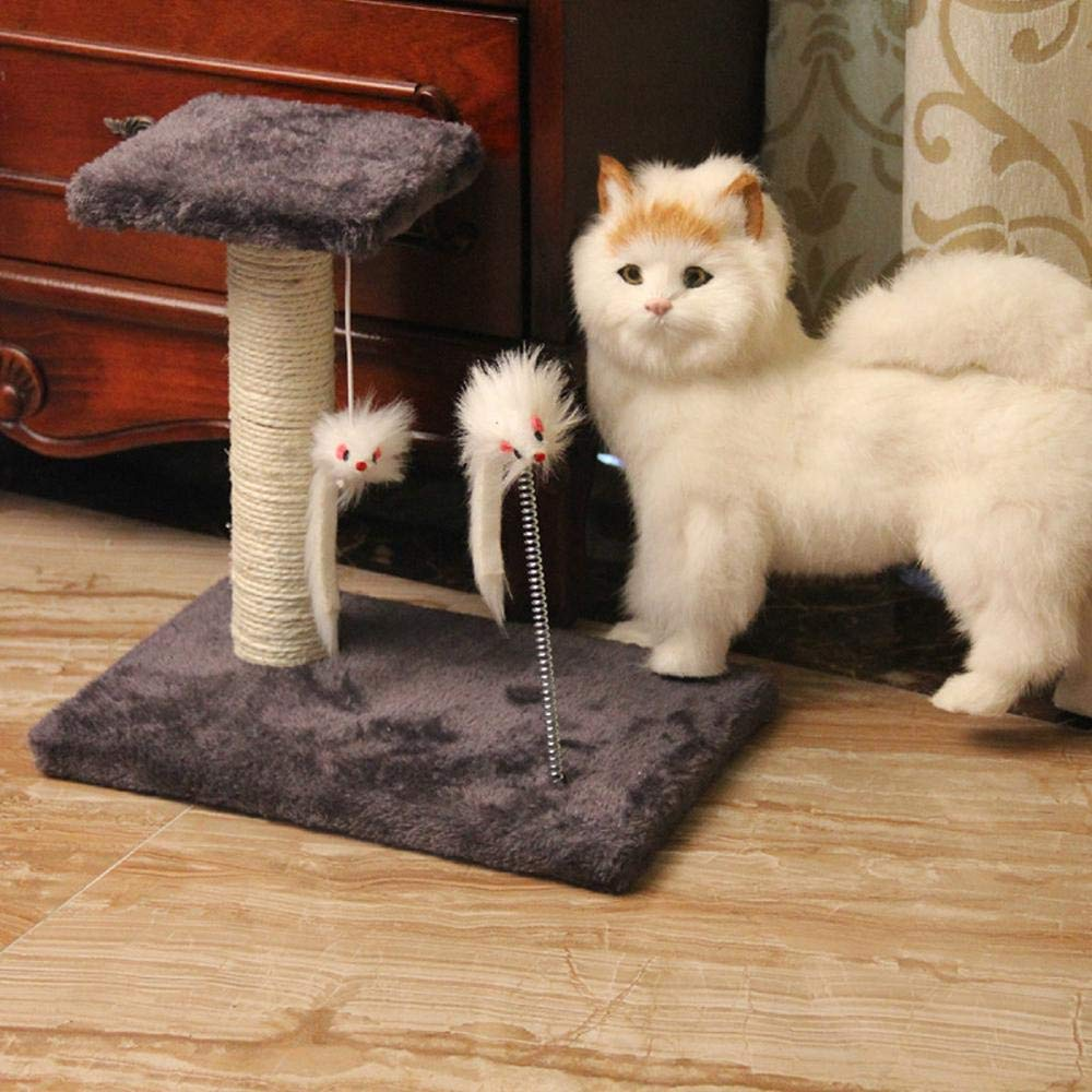 Aoligei Cat Play Towers & Trees Station Cat Toy sisal Cat Scratch Board cat grab column cat platform 21  21  30cm