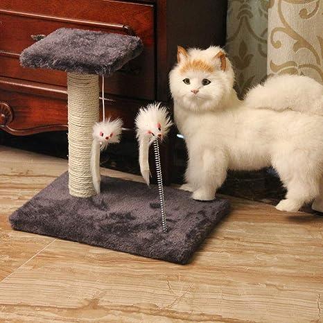 Daeou Árbol para Gatos rascador Gato de Gato Juguete sisal Scratch Board Gato agarrar Plataforma Gato