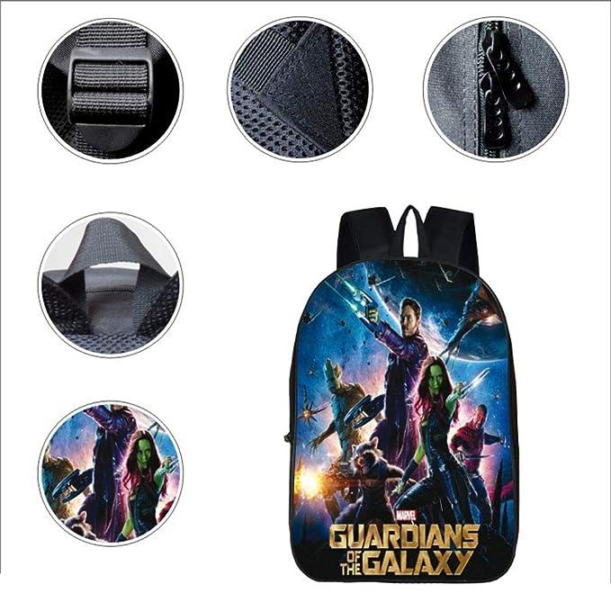 WSED Mochila para niños 3D Guardianes De La Galaxia Mochila ...