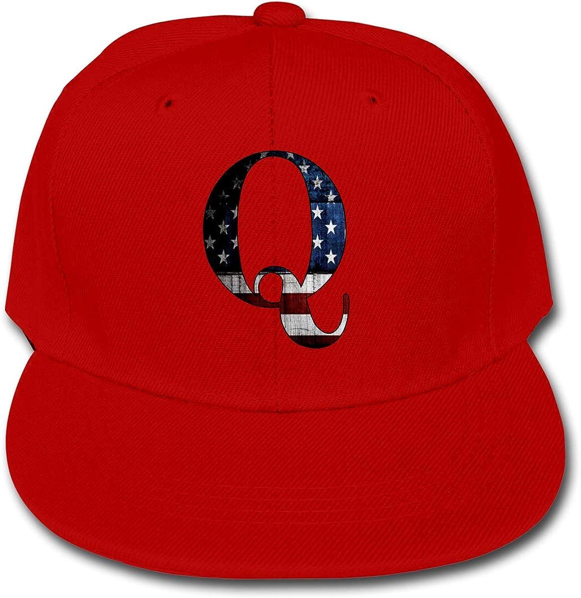 U are Friends Qanon America Adjustable Baseball Cap Hip Hop Hat Boys Girls Kids Sports