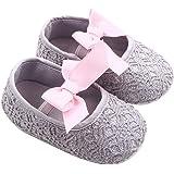 GOTD Glitter Baby Shoes Sneaker Anti-slip Soft Sole Toddler Prewalker (US 2.5, 0~6 Month , Gray ) by Goodtrade8