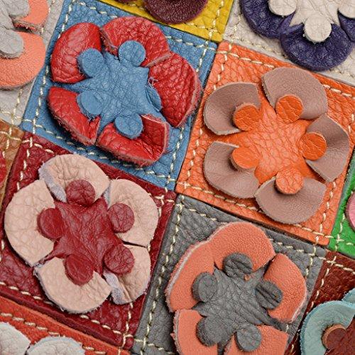 Bandes Voyage Doux Cabas Multi Agneau en Jardin Portatif Femme LES Sac Fleurs Tressé et Multicolore Yaluxe SOLDES PfWgqgCwp