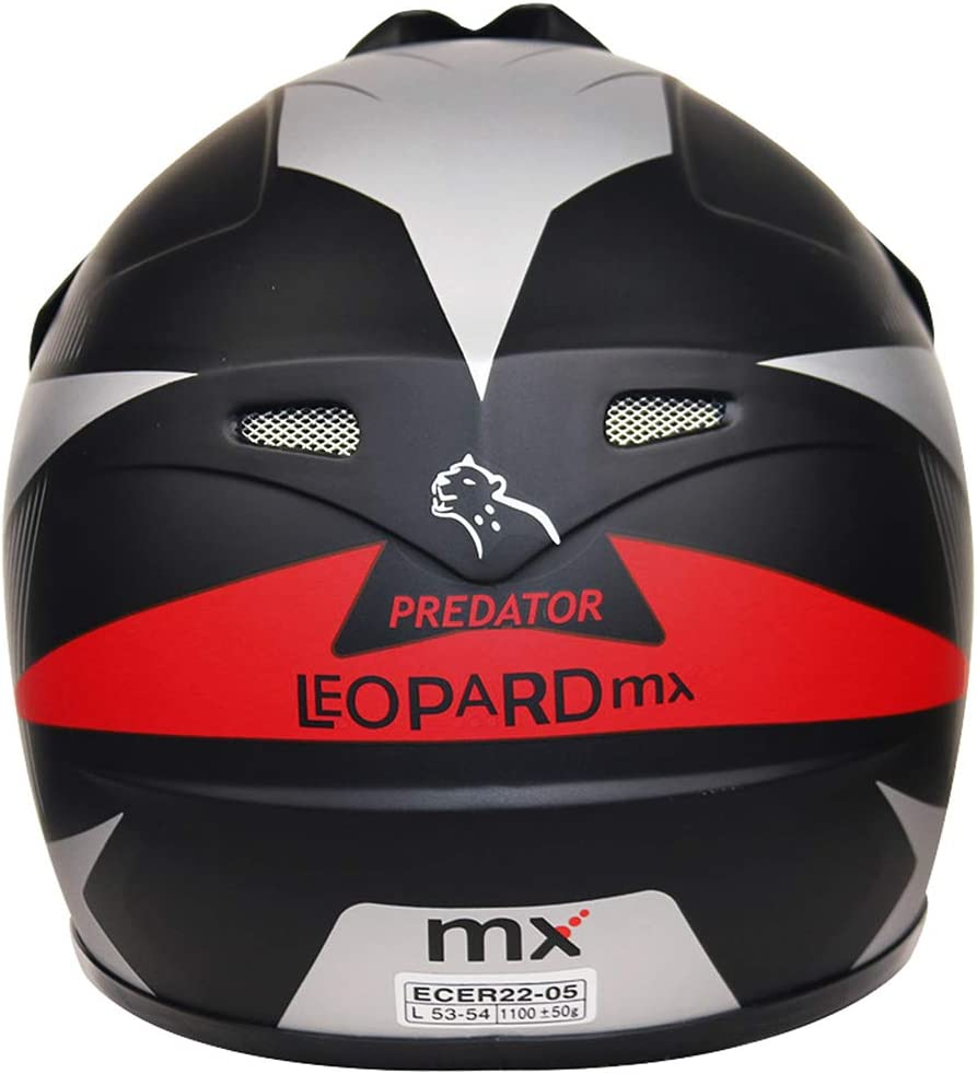 Brand:Leopard Children Kids Motocross Full Face Motorbike Helmet Off Road ECE-2205 Approved