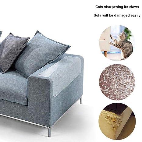 AUOKER - Protector de sofá para Gatos, plástico, Protector de sofá de Gato,