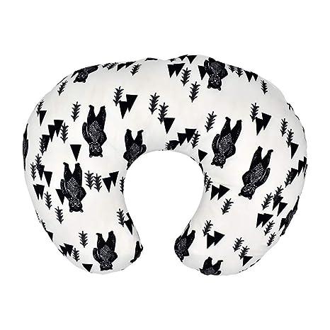 LAOSI - Funda para cojín de lactancia (22.5 x 18 cm), diseño ...