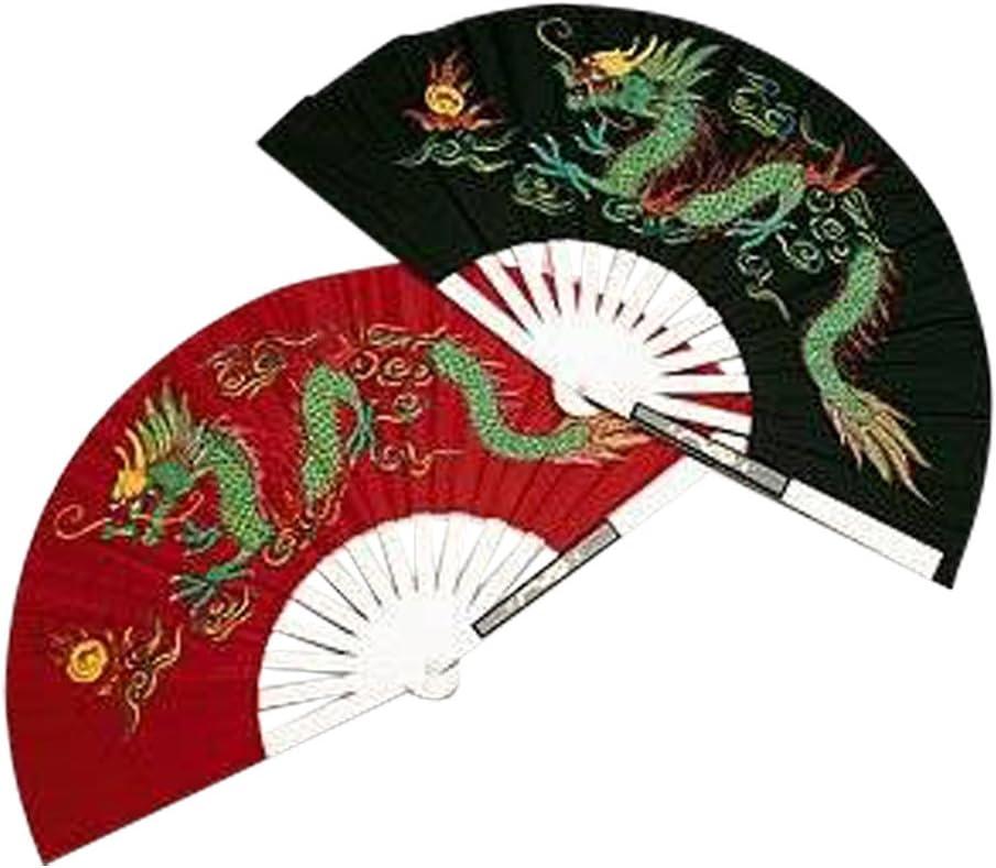 AWMA Metal Dragon Chinese Fighting Fan