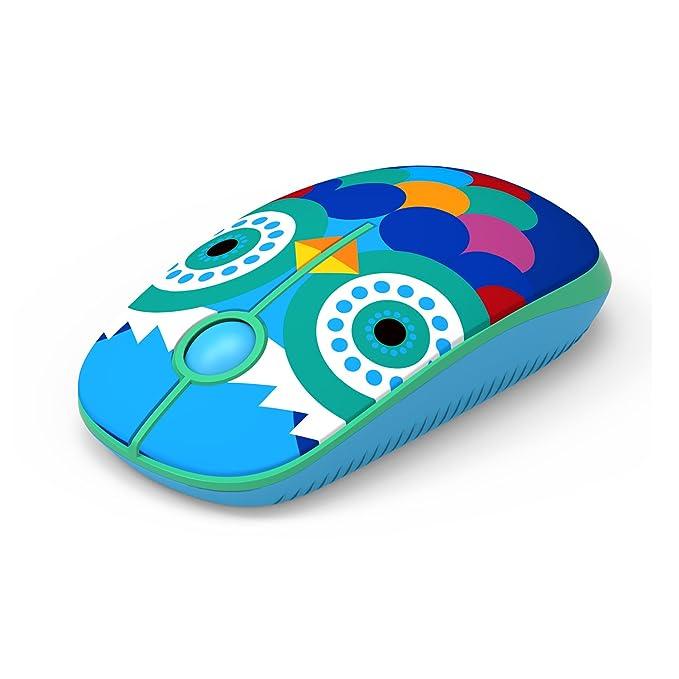 Jelly Comb Ratón Inalámbrico de 2,4 GHz con Receptor Nano para ...