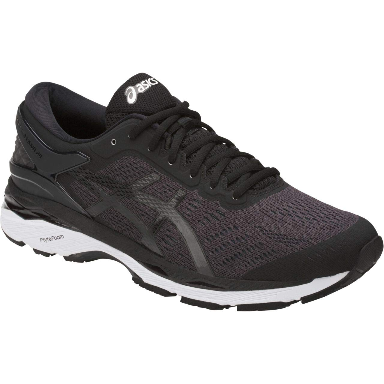 ASICS Mens Gel-Kayano 24 Running Shoe Black/Phantom/White 6.5 Medium US by ASICS (Image #1)