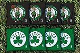 NBA Replacement All Weather Cornhole Bag Set NBA Team: Boston Celtics