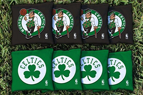 NBA Replacement All Weather Cornhole Bag Set NBA Team: Boston Celtics by Victory Tailgate